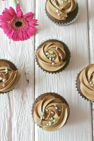 Rezept Schoko Cupcakes mit Milka