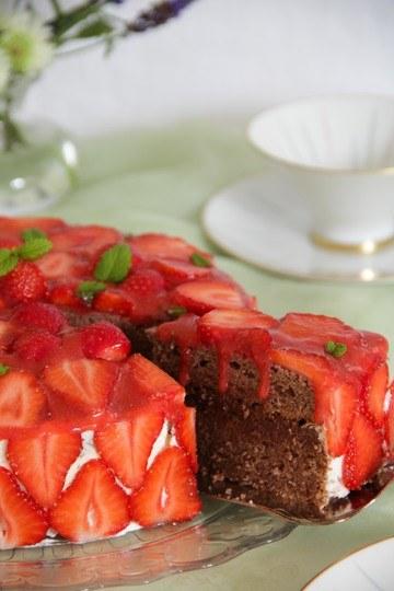 Rezept Schoko-Erdbeer-Torte
