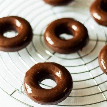 Rezept Schoko-Espresso-Donuts