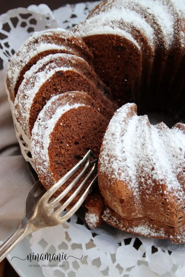 Rezept Schoko-Gugelhupf mit Lebkuchengewürz