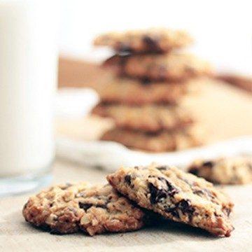 Rezept Schoko-Haferflocken-Cookies