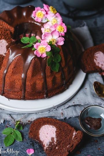 Rezept Schoko-Himbeercreme-Kuchen