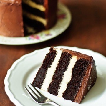 Rezept Schoko-Karamell-Torte