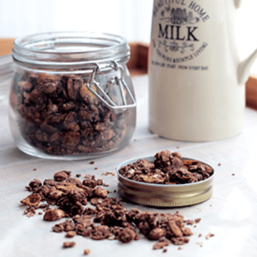 Rezept Schoko-Knusper-Granola