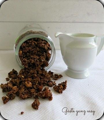 Rezept Schoko-Knuspermüsli