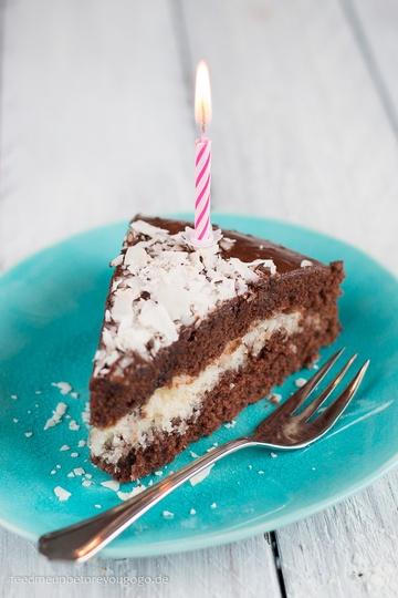 Rezept Schoko-Kokos-Kuchen aka Jamaica-Torte