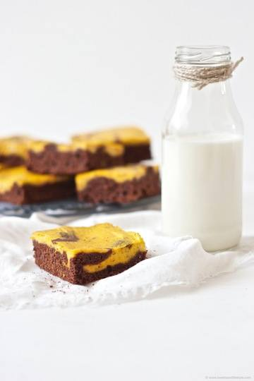 Rezept Schoko Kürbis Brownies