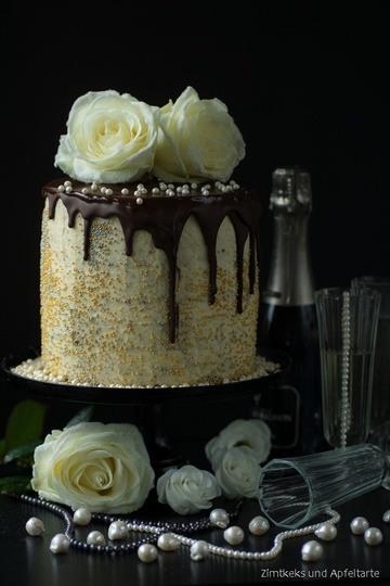 Rezept Schoko-Lebkuchen-Orangen-Cranberry-Torte