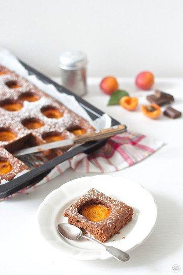 Rezept Schoko Marillen Kuchen