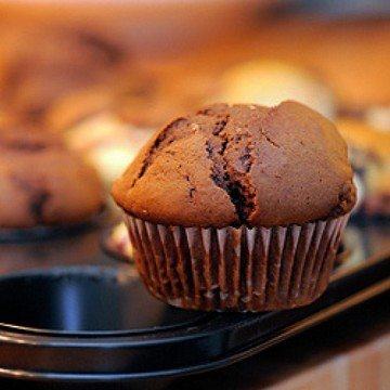 Rezept Schoko-Muffins mit Kick
