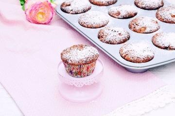 Rezept Schoko Muffins mit Sauerkirschen für den Spätsommer