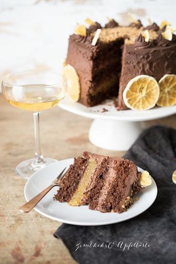Rezept Schoko-Orangen-Mandel-Törtchen mit Ganache