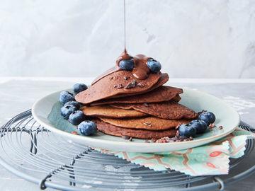 Rezept Schoko-Pancakes ohne Haushaltszucker