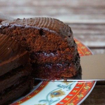 Rezept Schoko-Preiselbeer-Torte