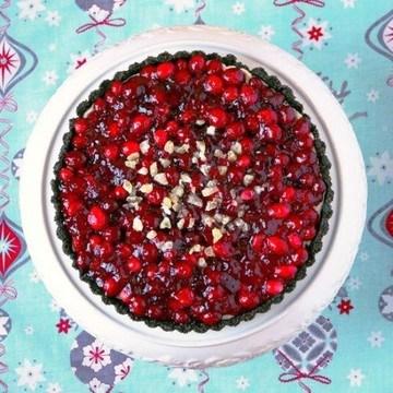 Rezept Schoko-Preiselbeeren Tart