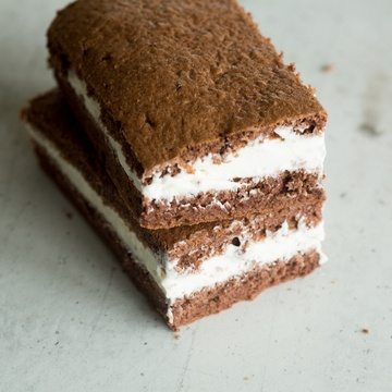 Rezept Schoko-Sahne-Biskuit à la Milchschnitte