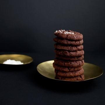 Rezept Schoko-Schock: Cookies mit einem Hauch Fleur De Sel