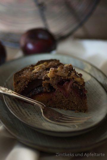 Rezept Schoko-Zwetschgen-Kuchen mit Walnüssen