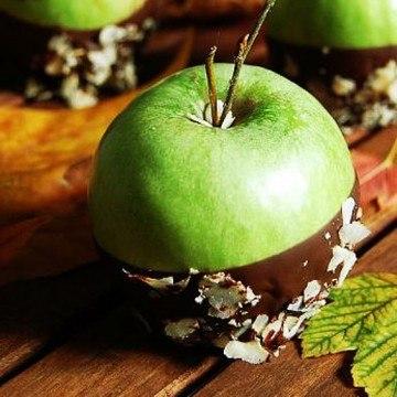 Rezept Schokoäpfel