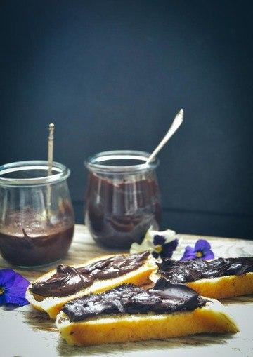 Rezept Schokocreme mit Macadamia und Haselnüssen