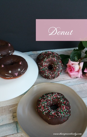 Rezept Schokodounts mit Streusel & Donutkätzchen