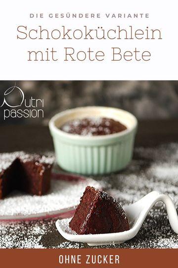 Rezept Schokoküchlein mit Rote Bete (glutenfrei)