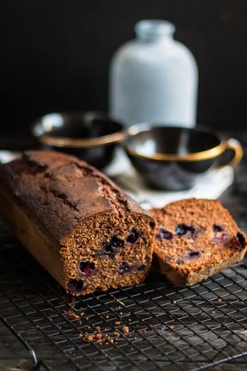 Rezept Schokolade Heidelbeer Kastenkuchen