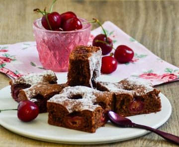 Rezept Schokolade Kirschkuchen