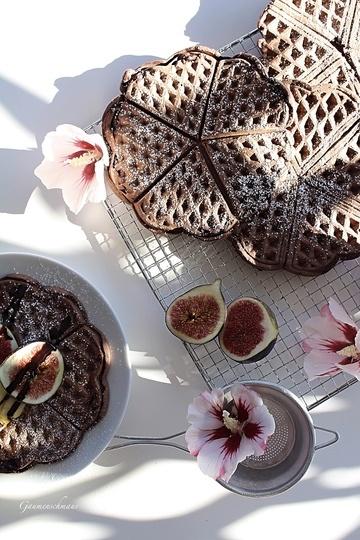 Rezept Schokolade-Waffeln