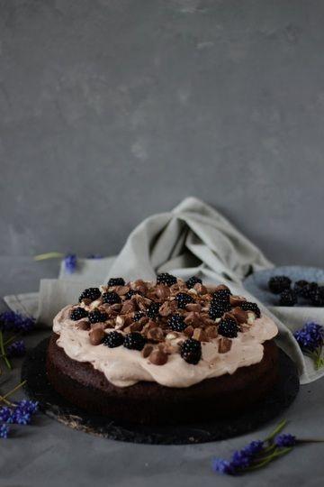 Rezept Schokoladen-Brombeerkuchen