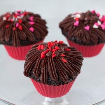 Rezept Schokoladen-Cupcakes