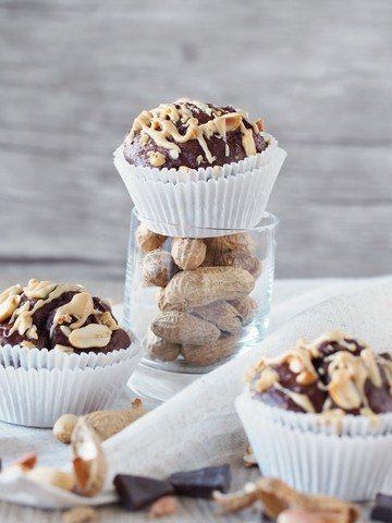 Rezept Schokoladen-Erdnuss-Muffins