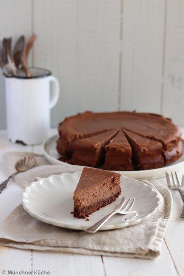 Rezept Schokoladen-Käsekuchen
