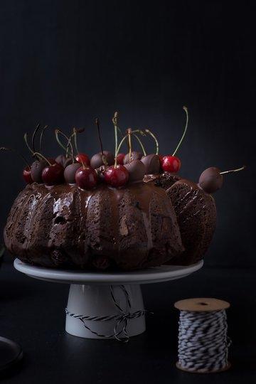 Rezept Schokoladen-Kirsch-Guglhupf