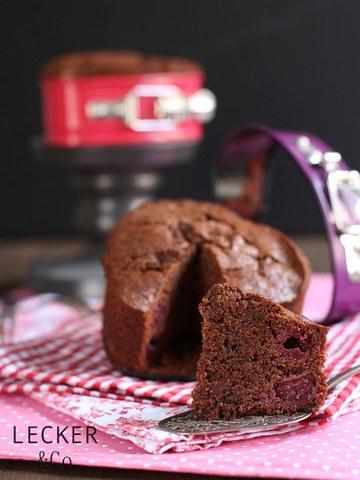 Rezept Schokoladen-Kirsch-Herzen