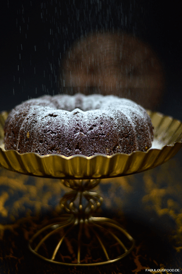 Rezept Schokoladen Kokos Kuchen - low carb