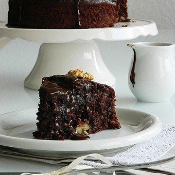 Rezept Schokoladen Kuchen mit Datteln