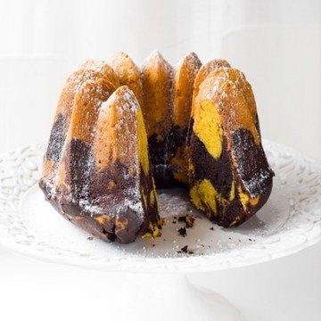 Rezept Schokoladen-Kürbis Marmorkuchen