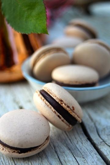 Rezept Schokoladen-Macarons