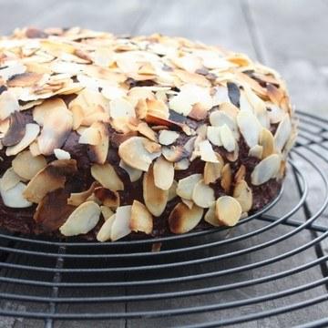 Rezept Schokoladen-Mandeln-Kuchen
