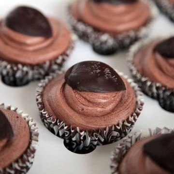 Rezept Schokoladen-Minz-Cupcakes
