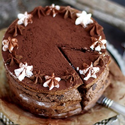Rezept Schokoladen Mousse Torte