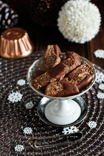 Rezept Schokoladen-Nuss Plätzchen / Stäbe