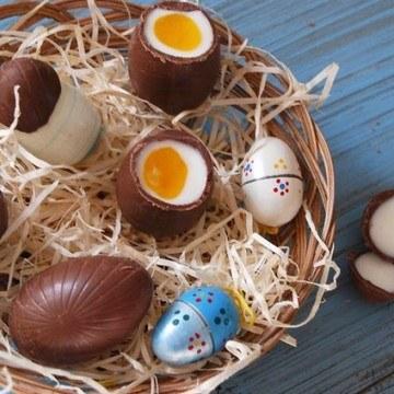 Rezept Schokoladen Ostereier