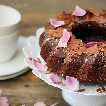 Rezept Schokoladen - Rotweinkuchen
