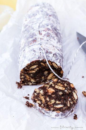 Rezept Schokoladen-Salami