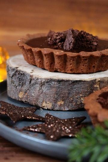 Rezept Schokoladen-Whisky Tartelettes