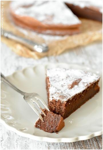 Rezept Schokoladenkuchen - Gâteau au chocolat