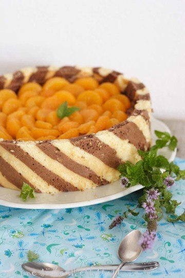 Rezept Schokoladenmousse-Orangentorte