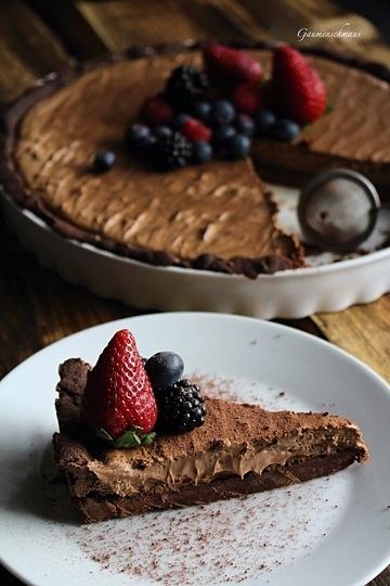 Rezept Schokoladentarte